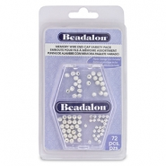Beadalon Memory Wire End Cap Variety Pack Silver