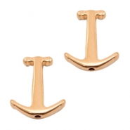 DQ European metal beads anchor Rose Gold (nickel free)