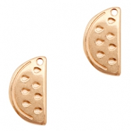 DQ European metal charms watermelon Rose Gold (nickel free)