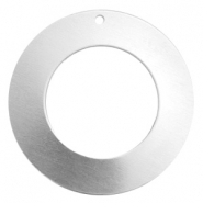 ImpressArt stamping blanks charms ring 32mm Aluminum Silver