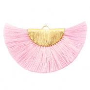 Tassels charm Gold-Sweet Lilac Rose