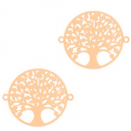 Bohemian connectors tree of life 15mm Rose Gold (nickel free)