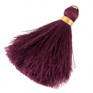 Tassels 6cm Limited edition Muted Violet Purple-Warmgold