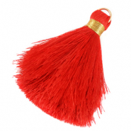 Tassels 6cm Limited edition Fiery Red-Warmgold