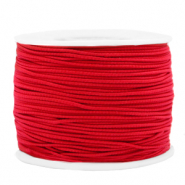 Coloured elastic cord 1.2mm Red