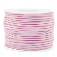 Coloured elastic cord 2mm Pink