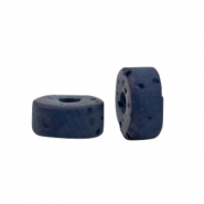 Polaris beads disc 6mm Lava Deep Blue