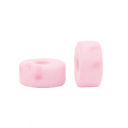 Polaris beads disc 4mm Lava Princess Pink