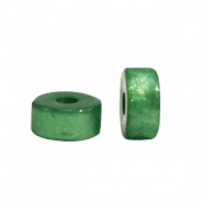 Super Polaris beads disc 6mm Fir Green