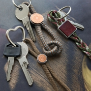 Inspirational Sets Double loop keychains