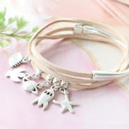 Inspirational Sets Bracelets with matching earrings of Designer Quality metal