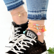 Inspirational Sets Summery anklets with seed beads