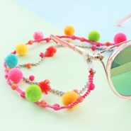 Inspirational Sets  Wonderful Pompom charms in the best, summery colours