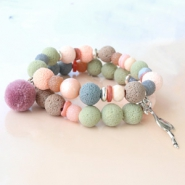 Inspirational Sets Cool bracelets with Katsuki/lava beads