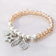 Inspirational Sets Party bracelets with new Basic Quality metal charms