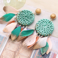 Inspirational Sets Festival inspiration with feathers