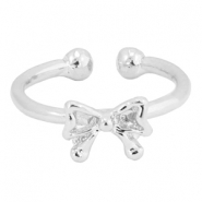Must-have bow ring Silver