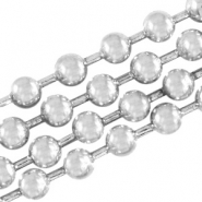 DQ ball chain 4.5mm DQ Antique silver durable plated