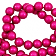 Miracle 3D beads 4mm Fuchsia Pink