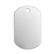 ImpressArt stamping blanks name tag Aluminum Silver