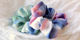NEW IN! Colourful watercolour scrunchies