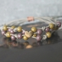 Gorgeous Cuoio jewellery, wooden beads, faceted beads and acrylic beads