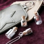 Must have jewellery and accessories with bottles, leave pendants, wallets and keychains!