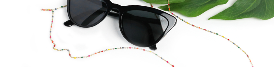 Shop now: stainless steel sunglasses cords